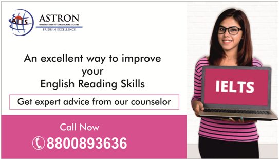 Reading section of IELTS - Astron International